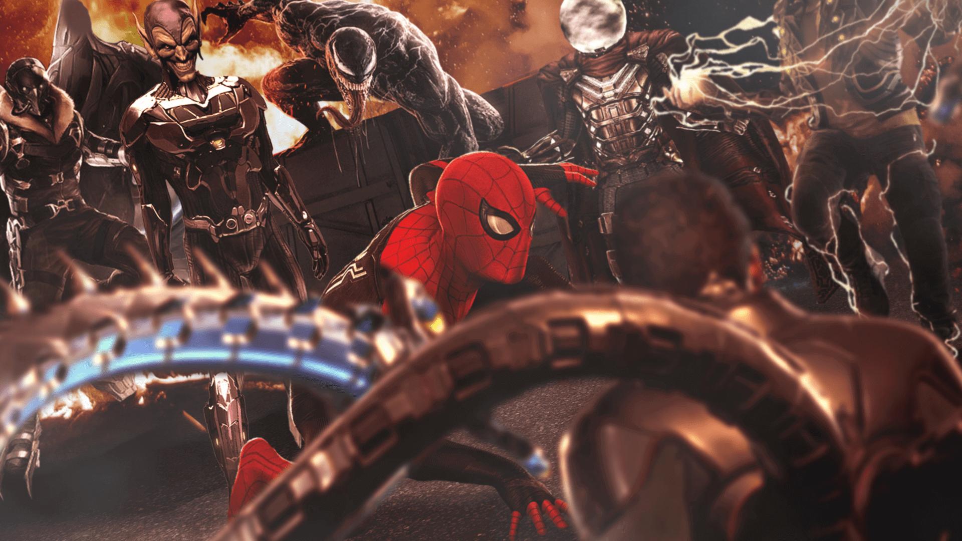 Em Homem-Aranha 3 irá abrir o multiverso no UCM, e existem algumas pistas que apontam a um novo grupo de Super Vilões. Confira!