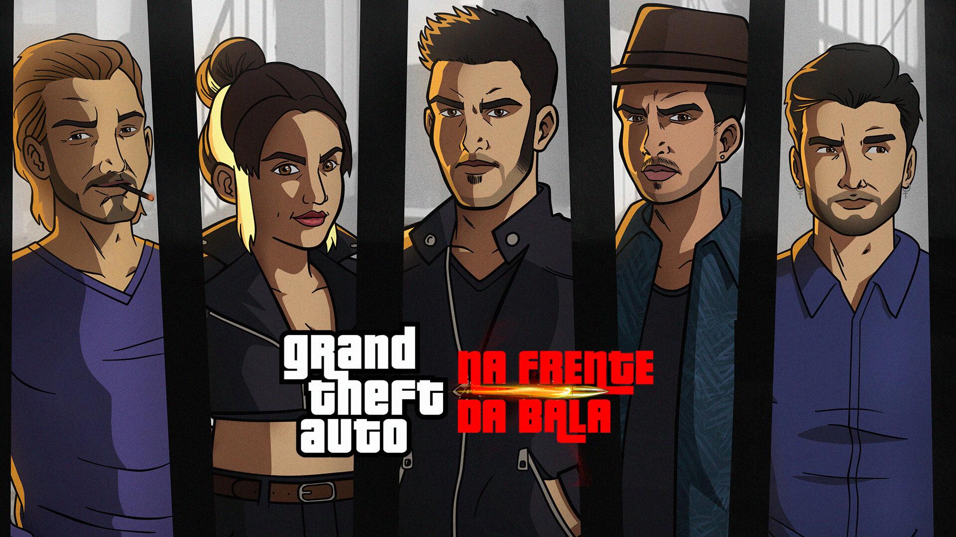 GTA: Na frente da Bala é um filme criado por fãs brasileiros para comemorar o aniversário de Grand Theft Auto 3 da Rockstar Games.