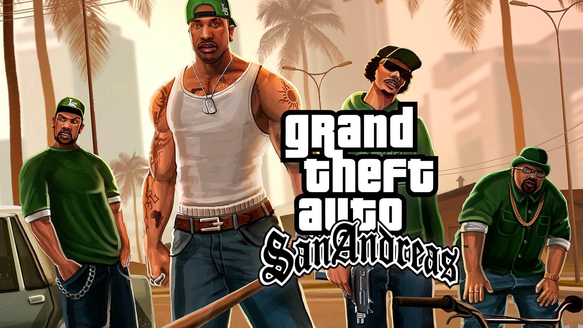 GTA Trilogy Remastered | Vazam supostas imagens do novo GTA San Andreas 1